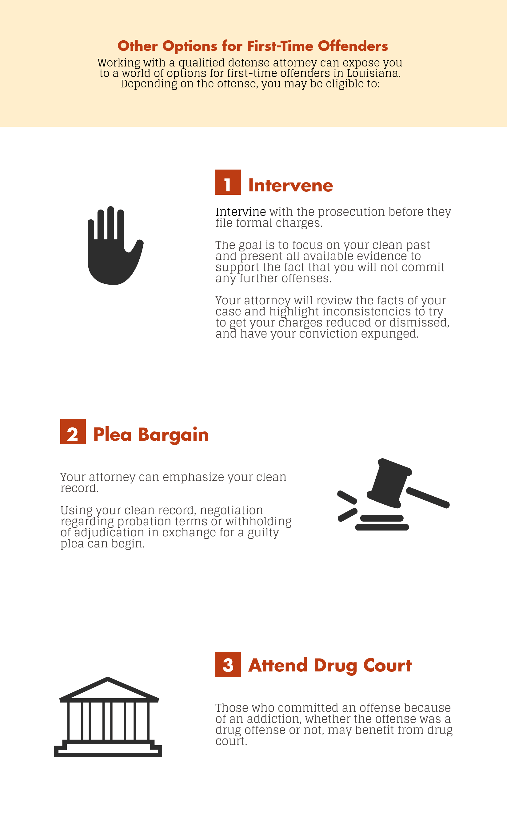 Louisiana First-Time Offender's Guide | Eric G Johnson Law
