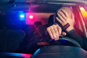 pulled over dui
