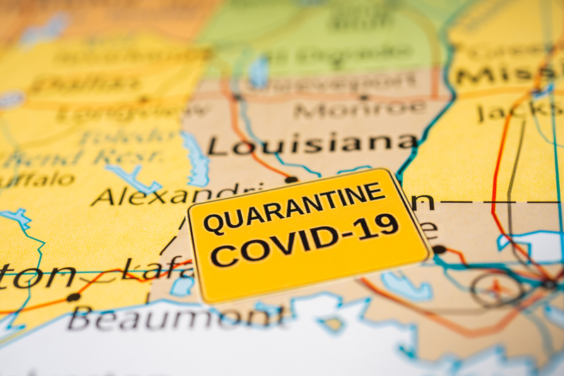 Crime down in Louisiana from COVID-19